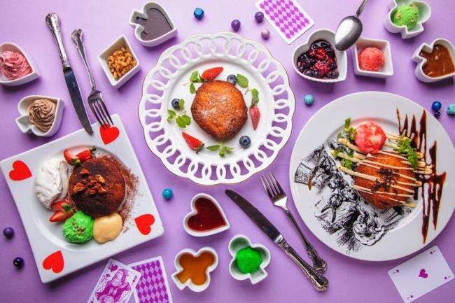カリっ!とろっ!の新食感スイーツ「わがままフレンチトースト」ファンタジーレストラン『古城の国のアリス』に新登場!