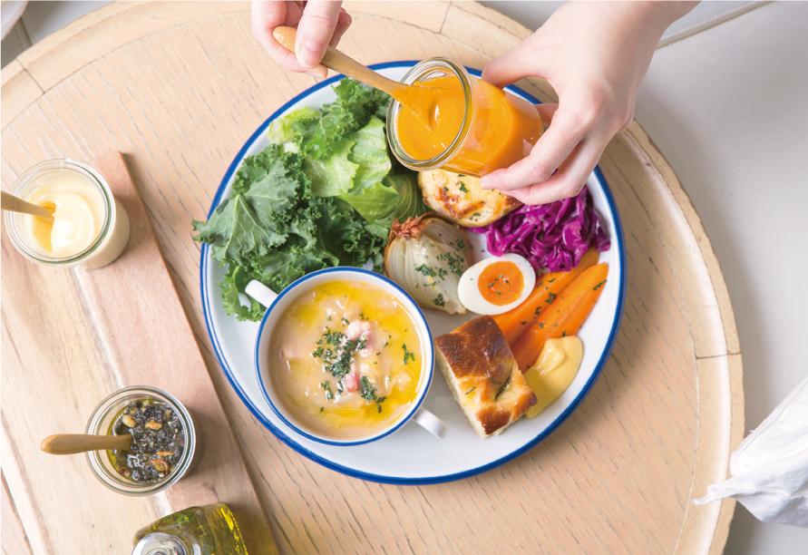新鮮でたっぷりのお野菜(GREEN)が主人公。横浜赤レンガ倉庫3F「chano-ma横浜」グランドメニューが健やかにリニューアル!