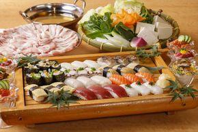 上野の和食ビュッフェ『大地の贈り物』が7月30日(金)より新たに「しゃぶしゃぶお寿司」を加えパワーアップ!!